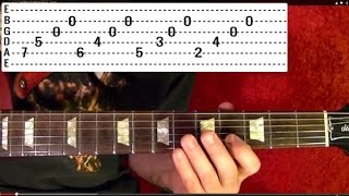Guitar Lesson - RUSH - Fly By NIght - With Printable Tabs