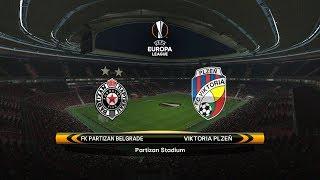FK Partizan vs. Viktoria Plzeň    15/02/2018   UEFA Europa league 2017/2018