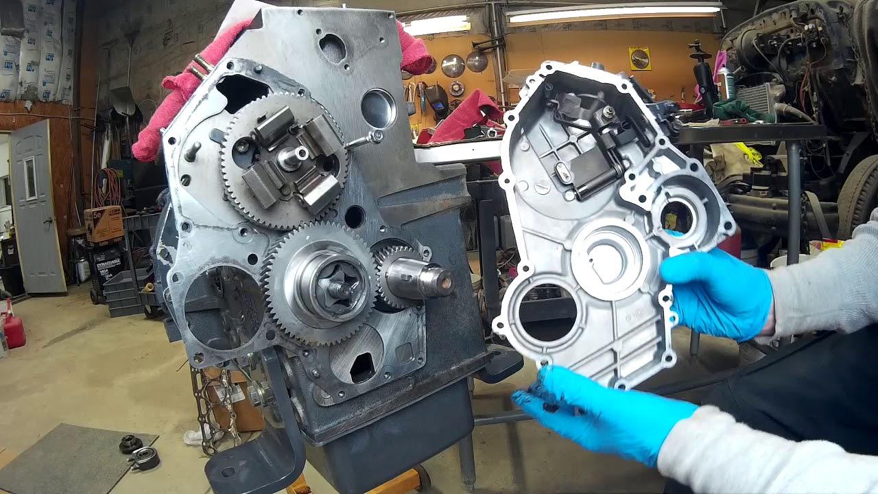 medium resolution of shibura 844lt oil pump