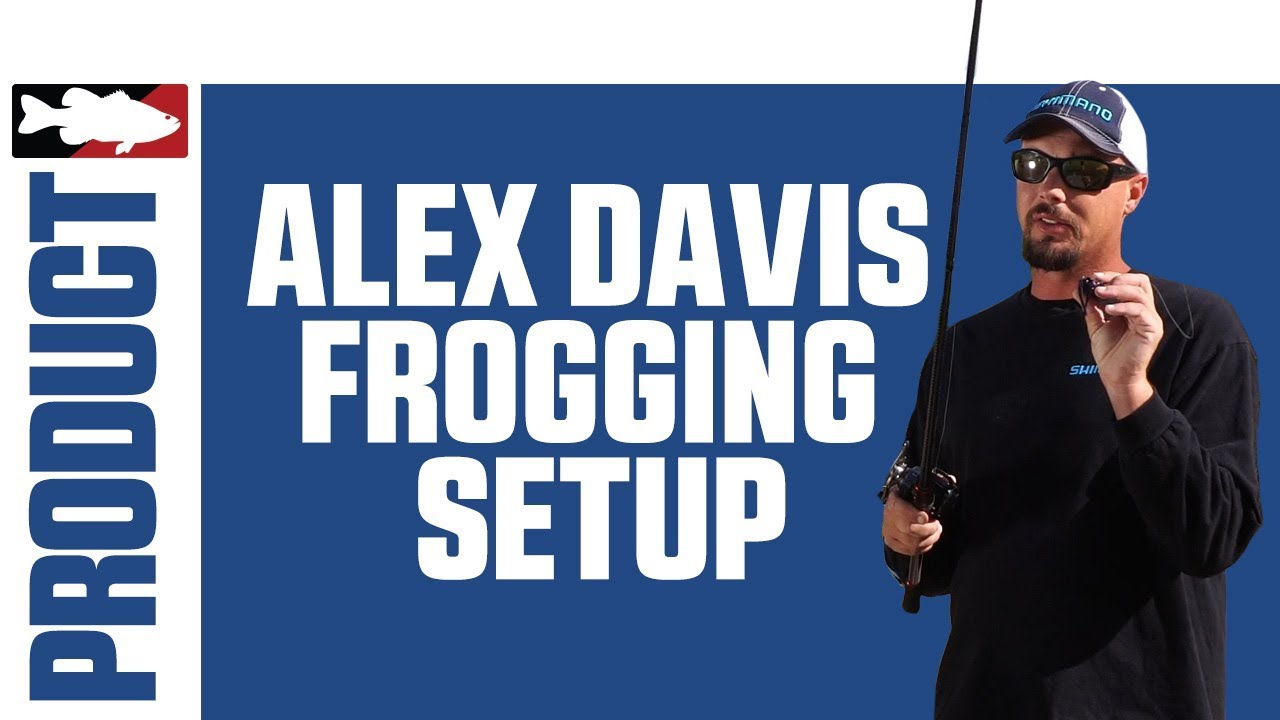 Alex Davis Talks About His Favorite Shimano Rods and Reels for Frog Fishing
