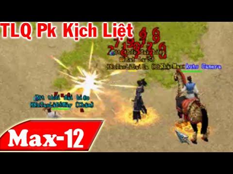 Trận Pk Kịch Liệt TLQ - Võ Lâm 2 - Ăn hoàng Kim Đại ngân Phiếu. | NhacMax -P12