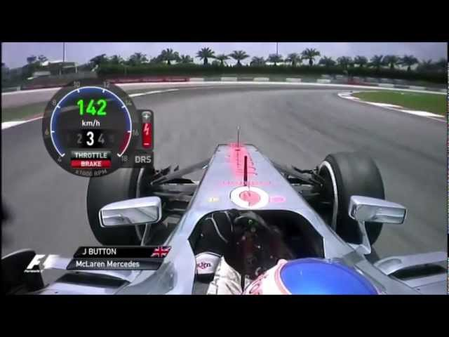 F1 2013 Jenson Button onboard at Malaysia (FP) [PURE SOUND] Travel Video