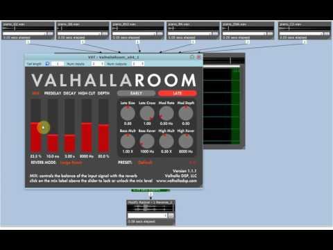 λ sound processing environment demonstration 2
