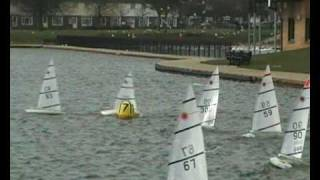 Radio Controlled Lasers at Gosport Model Yacht & Boat Club