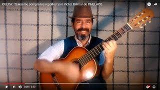 """CUECA: """"Quien me compra los repollos"""" por Víctor Belmar de PAILLACO"""