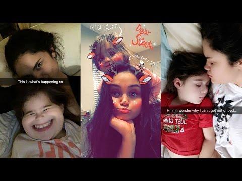 Victoria Moroles  Best Snapchat Videos  Teen Wolf Season 6 Set  December 2016
