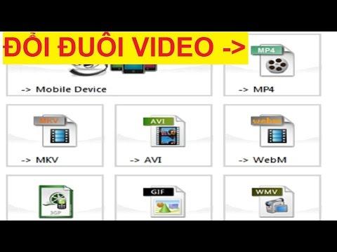 Hướng dẫn đổi đuôi video