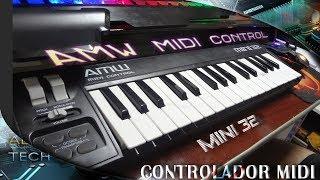 Controlador MIDI AMW Midi Control Mini 32 - Análise