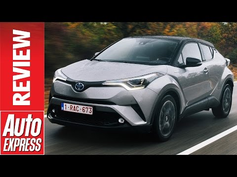 New Toyota C HR hybrid review funky crossover goes upmarket