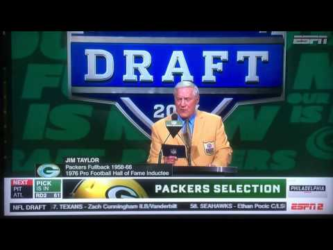 2017 NFL Draft- SS Josh Jones Selected by the Green Bay Packers