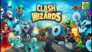 Clash of Wizards Battle Royale - Android Gameplay FHD