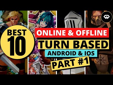 🌟Best 10 Online & Offline TURN BASED Games Android & IOS 2020🗡PART 1