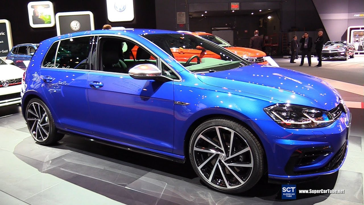 2018 Volkswagen Golf R 4motion Exterior And Interior Walkaround 2017 New York Auto Show