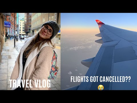 TRAVEL VLOG | Getting to Finland