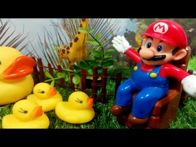 حيوانات ماريو !!العاب سيمبا سون !! حكايات للأطفال بالعربية / Super Mario run, Farm animal's