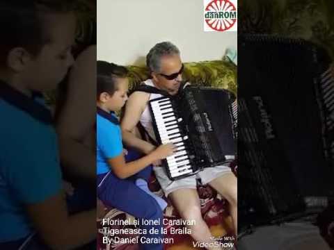 Florinel (9 ani) și Ionel Caraivan - Tiganeasca de la Brăila