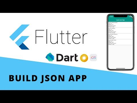 Flutter - Build Local JSON App   Android & iOS