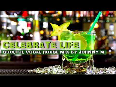 Celebrate Life | Soulful Vocal House Set | 2017 Mixed By Johnny M