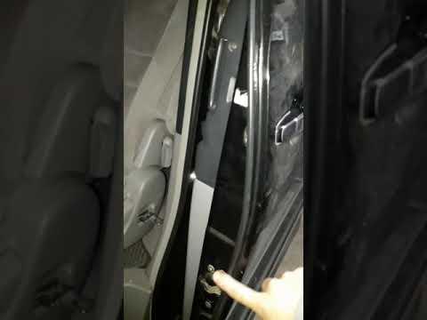 Адаптация дверей Тойота альфард