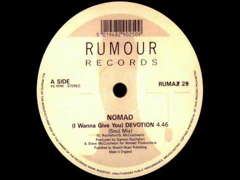 Nomad - (I Wanna Give You) Devotion (Dj ''S'' Bootleg Extended Soul Dance Mix)