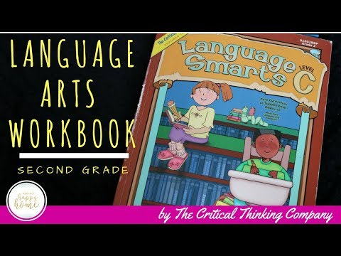 Language Arts Homeschool Curriculum REVIEW || Language Smarts C by Critical Thinking Co
