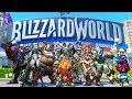 Overwatch Cosmetic Update! New Skins and BLIZZARDWORLD!