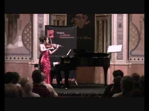 Paula Martinez - Violin - Ravel,Tzigane