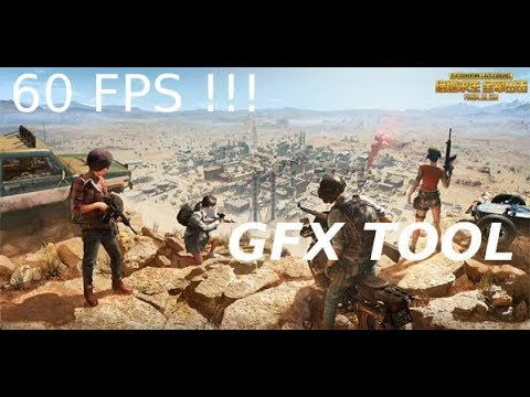 How To Make Pubg Mobile 60 FPS / DOWNLOAD GFX TOOL 9 0