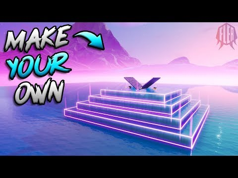 How To Make Your Own Floating Neon 1v1 Map...