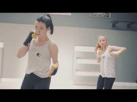 Kickboxen Pads/Technik HD #afcmunich #kickboxen
