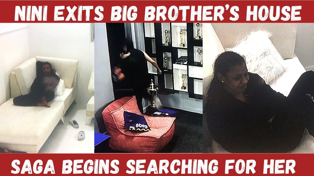 Download BBNAIJA 2021  NINI LEAVES BIG BROTHER'S HOUSE THROUGH EMERGENCY DOOR   SAGA BEGINS SEARCH FOR HER