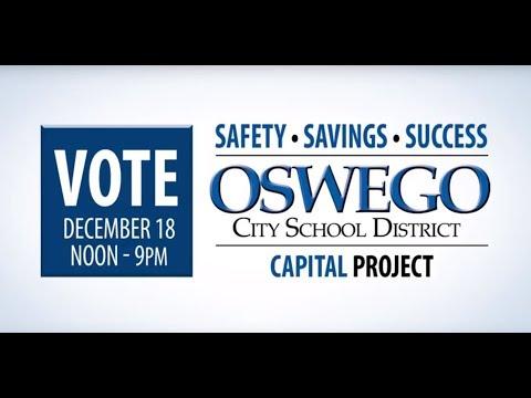 Oswego Middle School Capital Project Info