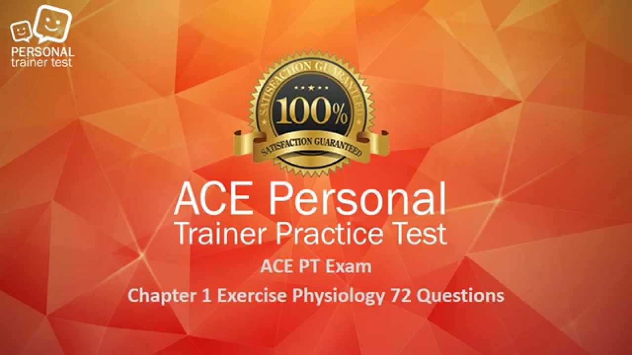 Ace Personal Trainer Exam Chapter 1 Exercise Physiology Flash Cards