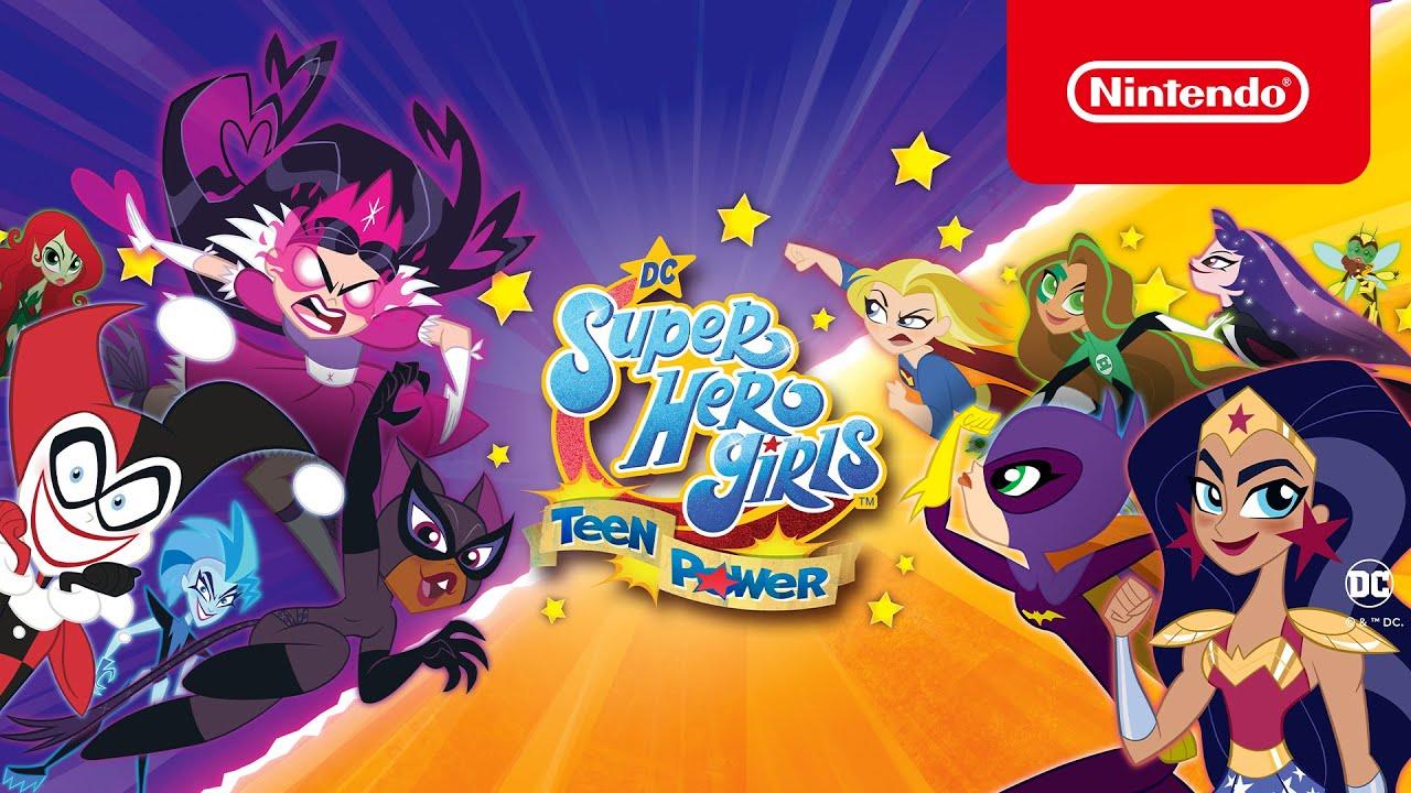 DC Super Hero Girls: Teen Power – Nu verkrijgbaar! (Nintendo Switch)