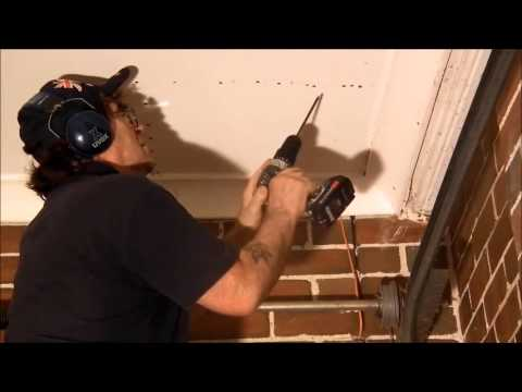 Sagging Garage Drywall Ceiling Repair