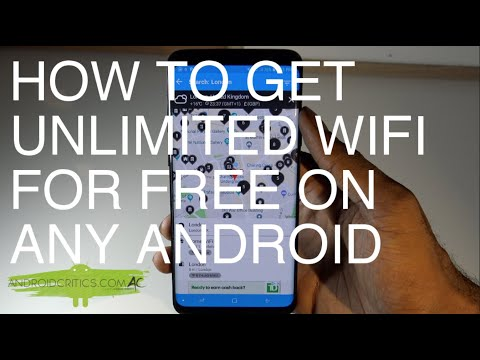How To Get Wifi For FREE Anywhere In The World On ANY Android