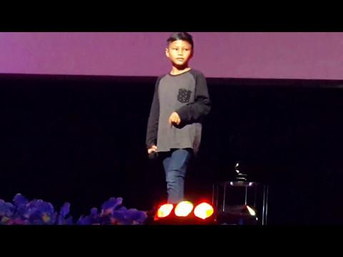 tanpa dendam-mantap adik iskandar Yusuf ,bintang kecil selangor 2017