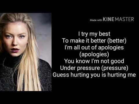 (Lyrics)Astrid S - Think Before Talk