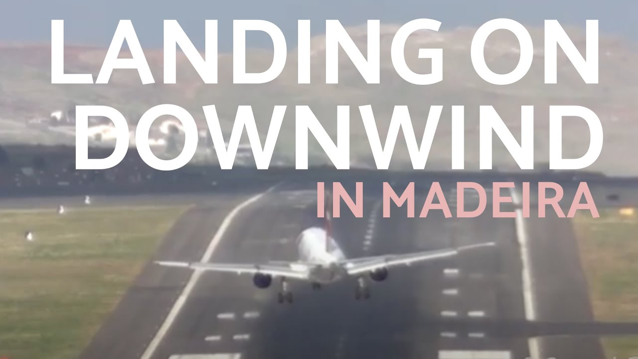 LONG WAY TO STOP || PILOT SKILLS LANDINGS in Madeira