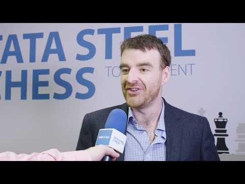 Tata Steel Chess - Interview - Gawain Jones - Round 12