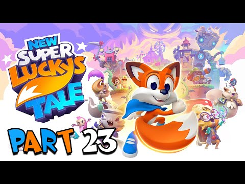 New Super Lucky's Tale - Part 23 - Trapped in Paradise |