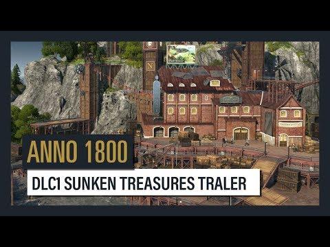"""Вышел DLC для Anno 1800 - """"Затонувшее сокровище"""""""