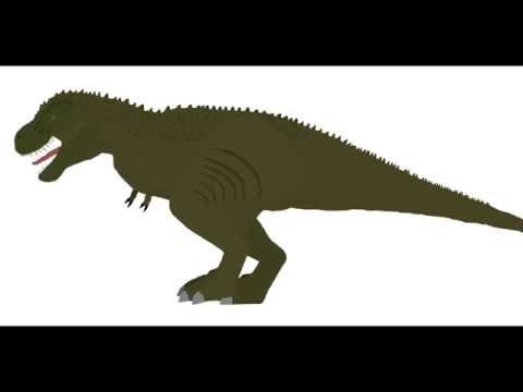 Tarbosaurus (Speckles the Tarbosaurus) Stk