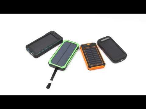 Kingberry solar power bank product list
