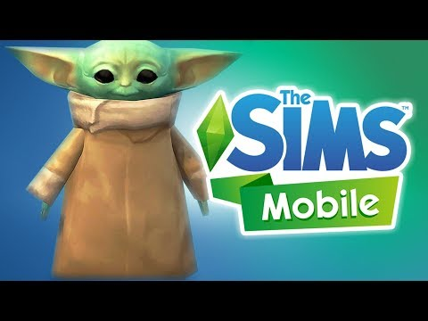 BABY YODA ! - THE SIMS: MOBILE GAME INDONESIA (Android)