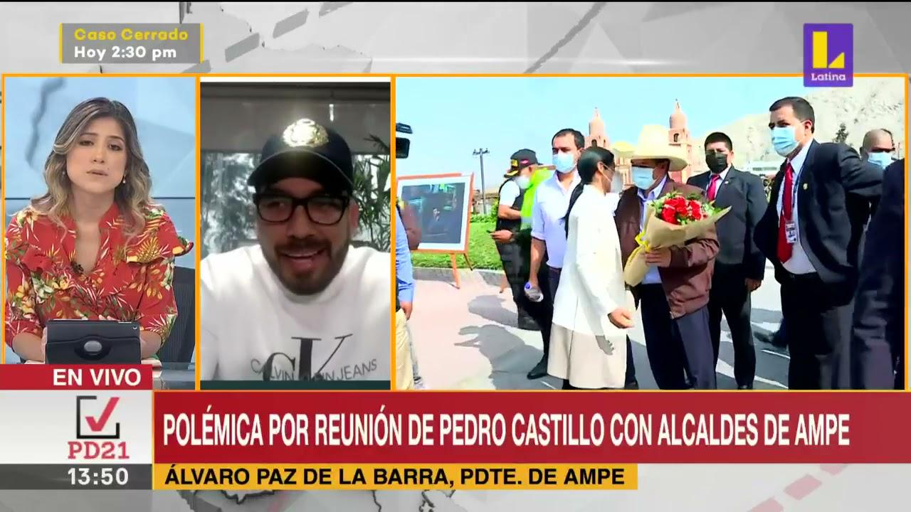 🔴 Entrevista con Alvaro Paz de la Barra, Presidente de AMPE.