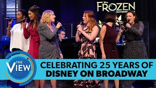 Disney on Broadway's Original Leading Ladies Reunite in Special Medley | The View