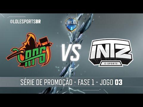 Série de Promoção: RPG x INTZ (Jogo 3) | Fase 1 - 2ª Etapa