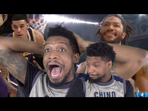 D ROSE IS REALLY BACK! + 6 MIN LONZO BALL RANT - LAKERS vs TIMBERWOLVES HIGHLIGHTS
