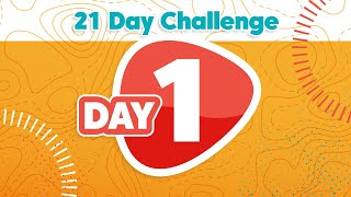 21 DAY CHALLENGE DAY 1 | Kids on the Move